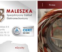 Strona www MALESZKA