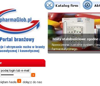 Strona www pharmaGlob