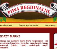 Strona www Piwa regionalne