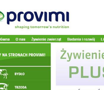 Strona www PROVIMI