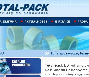 Strona www TOTALPACK