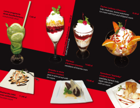 "Karta menu restauracji ""Wiwa"""
