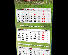 Kalendarz Biofaktor na rok 2012