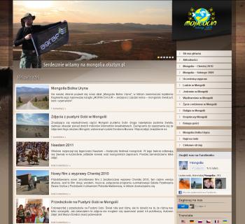 Mongolia.olsztyn.pl w nowej odsłonie