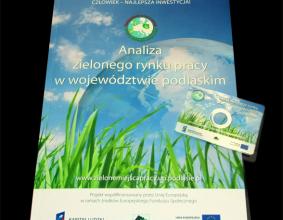 """Publikacja """"Analiza zielonego rynku pracy w Województwie Podlaskim"""""""