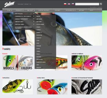 Strona internetowa firmy Salmo