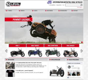 Strona internetowa Ural-Polska