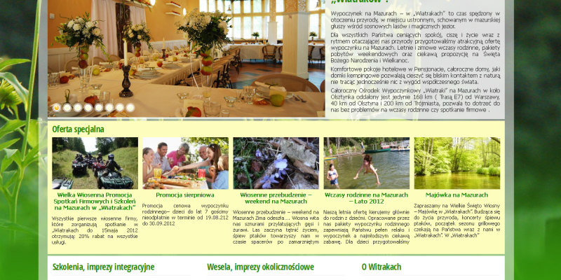 Ośrodek Wiatraki – kampania internetowa