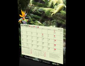 kalendarz jednodzielny firmy Agraf 2012