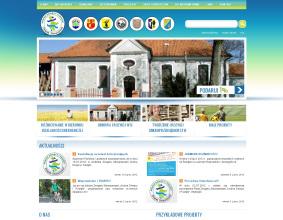 """Strona www Związku Stowarzyszeń """"Kraina Drwęcy i Pasłęki"""""""
