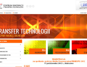 Uniwersytet Warmińsko-Mazurski Centrum Innowacji i Transferu Technologii