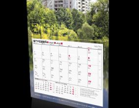 Kalendarz jednodzielny ARBET na rok 2012