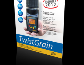 Ulotka reklamowa Twist Grain