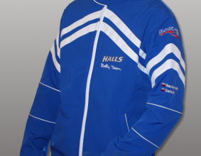 Kurtka softshell Halls Rally Team