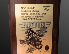 Podziękowania od KMW Rotor za pomoc w organizacji XXXVII Rajdu Rotor