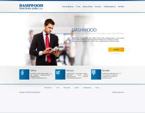 Strona internetowa DASHWOOD