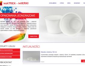 Strona Internetowa Matrex Mierki
