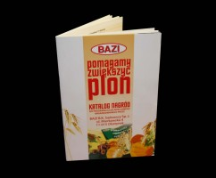 Katalog do programu lojalnościowego firmy BAZI