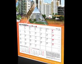 Kalendarz jednodzielny Arbet na rok 2014