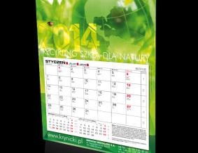Kalendarz firmy Krynicki