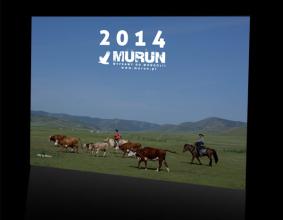 Kalendarz 2014 z fotografiami Dovdona Muruna
