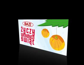Karta Świąteczna firmy Bazi