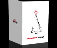 Karta Świąteczna firmy Dast Expres