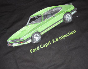 Koszulka Ford Capri 2.8 Injection