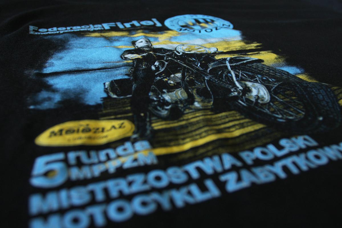 Motozłaz - koszulka, sitodruk, projekt i wykonanie Agraf